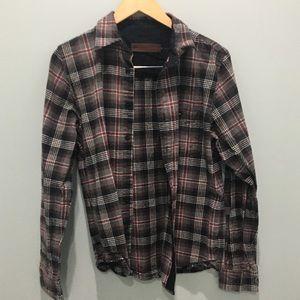 Brixton button down long sleeve shirt no size